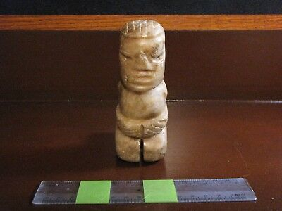 Pre Columbian, Costa Rican, Kneeling/Grieving/Praying Stone Figure, 600 1200 AD
