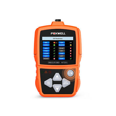 Foxwell NT201 OBD2 Auto Scanner Automotive Car Engine Fault Code Reader Diagnost