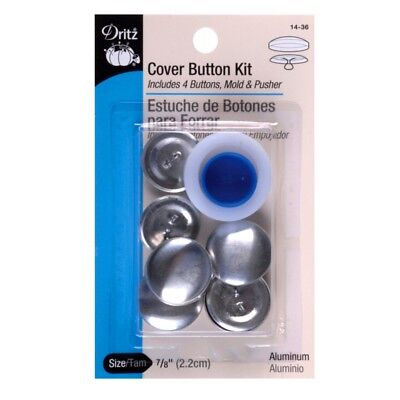 Button Kits 14pkg Cover Buttons Craft Size 36