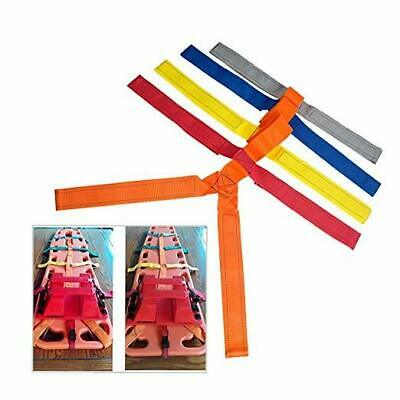 -NEW- Backboard Color Coded Spider Strap For Spine Support Board Stretcher Immob