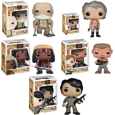 Funko Pop! The Walking Dead Michonne Daryl Herschel - Figurine en vinyle Carlo