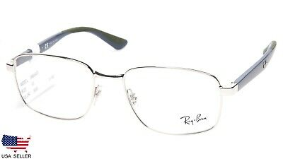323df6b1c05 NEW Ray Ban RB6423 3000 SILVER EYEGLASSES GLASSES FRAME 6423 53-18-145 B40mm