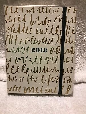 2017-2018 17 Month Kate Spade New York Medium Planner - This Is The Life