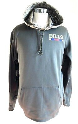 Buffalo Bills NFL Hoodie 2017 Salute To Service Therma-Fit USA Military XL  Nike ba48d25ab