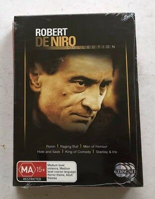 The Robert De Niro Collection of Films  (DVD 6 Films) Brand New Sealed R4