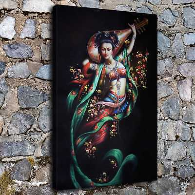 """12""""x22"""" Abstract buddha god posters HD Canvas Prints Home Room  Wall art picture"""