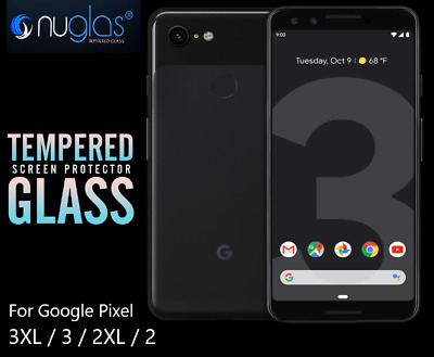 GENUINE NUGLAS Google Pixel 3 3XL Premium Tempered Glass Screen Protector AUPOST