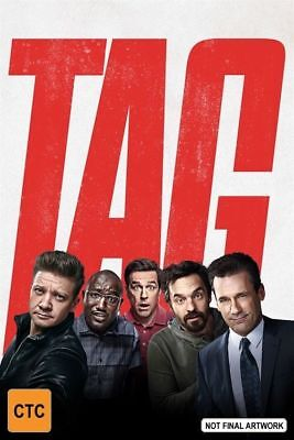Tag (Blu-ray, 2018) Australian Stock