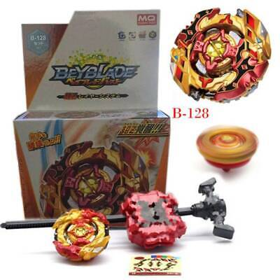 Beyblade Burst B-128 CHO-Z SPRIGGAN.OW.ZT Starter Match With Launcher New Gifts