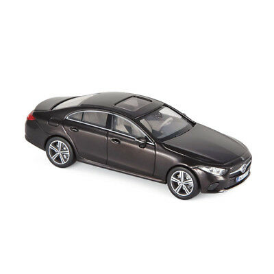 Mercedes cls Shooting Brake x218 Paris 2012 designo alubeam plata norev 1:18