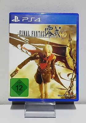 Final Fantasy Type-0 HD PS4 Sony PlayStation 4  A3846