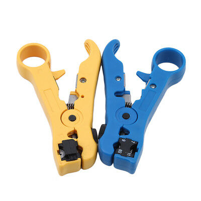 Protable Multifunctional Rotary Coaxial Cable Wire Cutter Stripping Test Tool BS