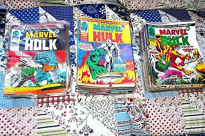 The Mighty World Of Marvel The Hulk Large Collection Uk Issue From The 1970S