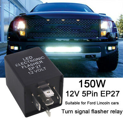 0678 DC12V 20A EP27 LED Durable Flasher Relay Turn Signal Decoder