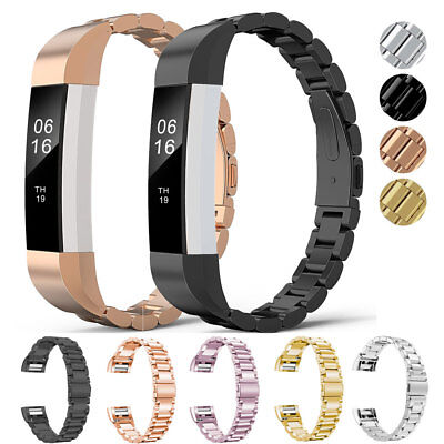 Metal Stainless Steel Watch Band Strap for Fitbit Alta/Alta HR/Versa Wristband