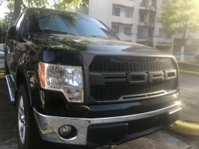 Abs Mattle Black Front Grille Hood Raptor Style For 2009 2014 Ford F150 F 150
