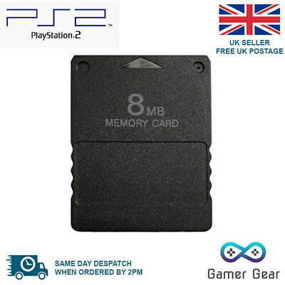 8MB PS2 Memory Card Data Stick for Sony Playstation 2