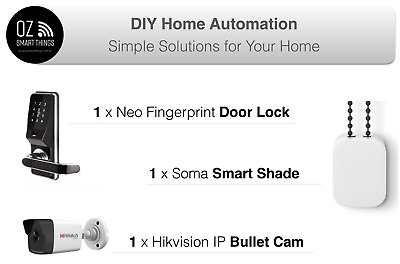 DIY Smart Home Automation Kit, Automation Package, Security intelligent Wifi IOT