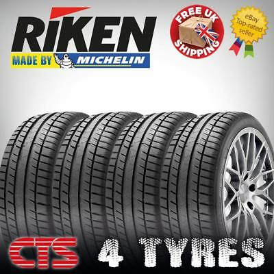 225 55 16 RIKEN MICHELIN MADE NEW TYRES 225/55R16 93W  AMAZING C, C  Ratings