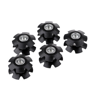 5Pcs Star Nut Cycling Headset Star Nuts Practical Bike Front Fork Star Nuts