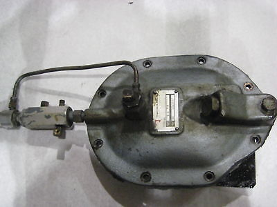 Ingersoll Rand Model 20T2 Type 30 Air Compressor Cover Pilot Valve Unloader Used