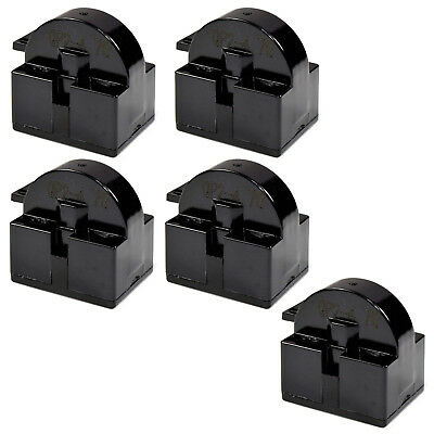 5-Pack QP2-4.7 4.7 Ohm 1-Pin PTC Start Relay for Sunbeam SBWC033A1S Cooler