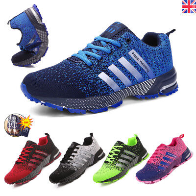 Mens Womens Sports Shoes Breathable Running Trainers Casual Sneakers Athletic UK