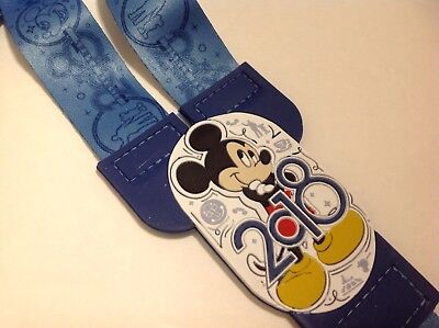 2018 Mickey Mouse Disney Parks Pin Trading Lanyard New W Tags