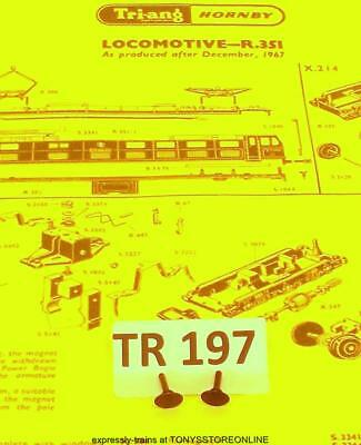 triang oo s//h spare s1008  1x triang blue pullman body fixing screw tr157