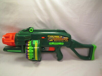 Buzz Bee Toys Air Blasters Motorized Automatic Tommy 20 Dart Gun