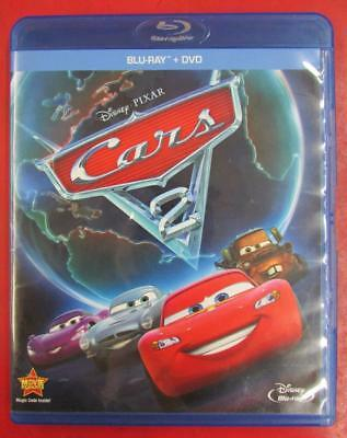 Cars 2 (Blu-ray/DVD, 2011, 2-Disc Set) ~118