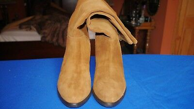 first rate 0db6b 7100f PAOLA FERRI BY Alba Moda real genuine leather boots suede 9m