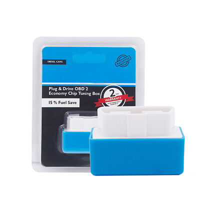Interface Blue Plug and Drive for Diesel Car Eco OBD2 Economy Chip Tuning Box UK