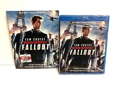 Mission Impossible: Fallout Blu Ray/DVD/Digital Sealed
