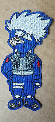 Naruto Kakashi embroidered Patch 3 1/2 inches tall