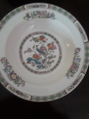 "PAIR of Wedgwood KUTANI CRANE 8"" Rimmed Soup Plates (Bowls) 3 Pairs Avail."