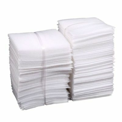 100Pcs 25x30cm Cushion Foam Pouches Safely Wrap Cup Packings Pouches for Moving