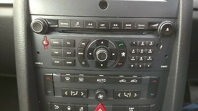 Peugeot 407 Rt3 D25 -N3 Sat Nav Cd Mp3 Player 96645760 Xa