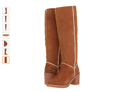 55e46752521 UGG AUSTRALIA KASEN Tall Suede Knee High Boot 1018937 Chestnut ...