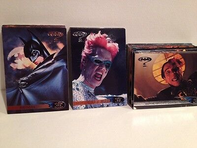 1995 Fleer Ultra Batman Forever Movie Trading Card Set (120) NM/MT
