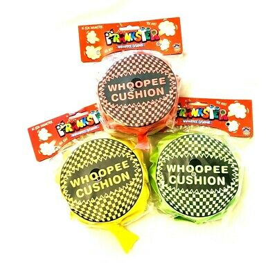 NEW Self Inflating Whoopee-Cushion Joke Prank Party Toy Fart Whoopie-cushion