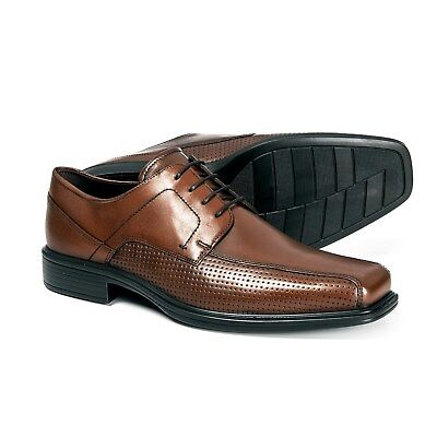 67fae830a358 NEW MEN`S ECCO Johannesburg Oxford Shoes Perforated Leather 623574 ...