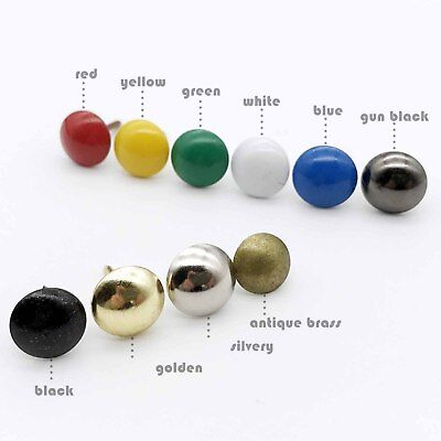 25/100pcs Upholstery Nail Wall Box Sofa Shoe Door Thumbtack Decorative Tack Stud