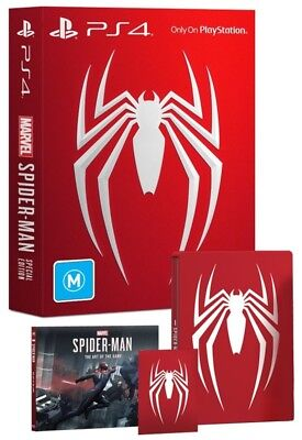 Marvels Spider-Man Special Edition PS4 Game NEW
