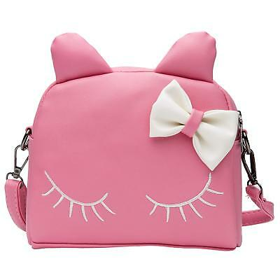 Cute Cat Crossbody Bag Mini Toddler Backpack for Little Girls (Kids Purse  Pink) eea0fc3bf72be