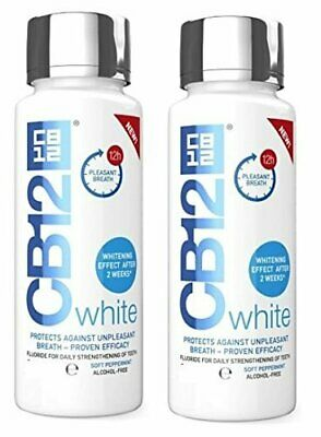 CB12 White Mouthwash 250ml Whitening Effect After 2 weeks and Fresh Breath