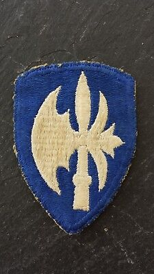 Authentic WWII US Army 65th Infantry Division Cloth Insignia Patch