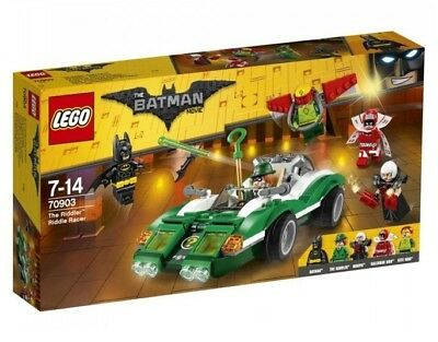 The Lego Batman Movie The Riddler Riddle Racer 70903 NEW FREE Signed Delivery