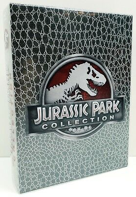Jurassic Park Collection - Dino-Skin | FSK 12 | Blu-ray | Zustand - Sehr gut
