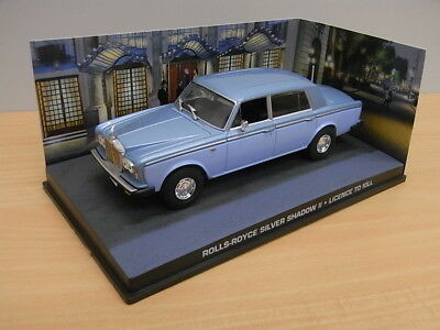Die cast 1:43 James Bond # 107 Rolls-Royce Silver Shadow II - Licence to Kill